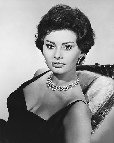 This is an image of 179780 Sophia Loren Photograph & Poster