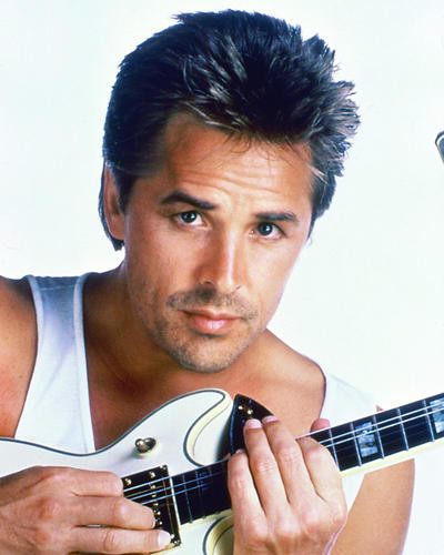 This is an image of 266982 Don Johnson Photograph & Poster