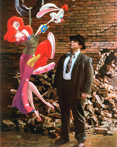 This is an image of 269833 Roger Rabbit Photograph & Poster