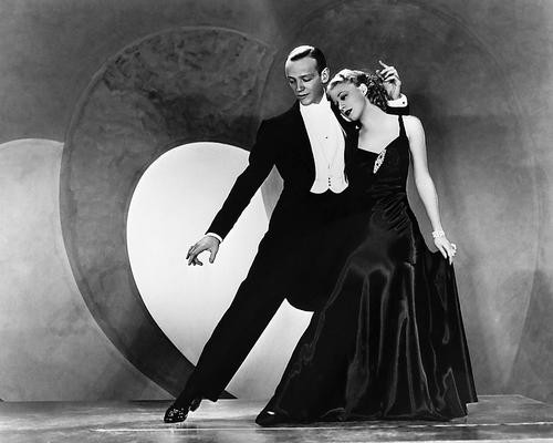 This is an image of 178834 Fred Astaire & Ginger Rogers Photograph & Poster