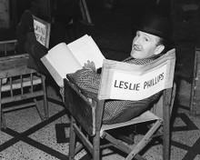 This is an image of 180082 Leslie Phillips Photograph & Poster