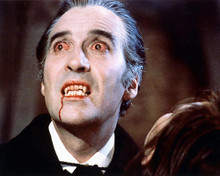 This is an image of 265559 Christopher Lee Photograph & Poster