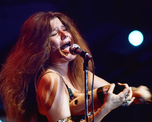 This is an image of 266404 Janis Joplin Photograph & Poster