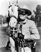 This is an image of 194500 Clayton Moore Photograph & Poster