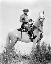This is an image of 194502 Clayton Moore Photograph & Poster