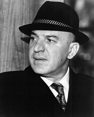 This is an image of 194560 Telly Savalas Photograph & Poster