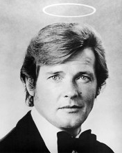 This is an image of 194574 Roger Moore Photograph & Poster