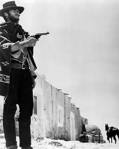 This is an image of 194383 Clint Eastwood Photograph & Poster