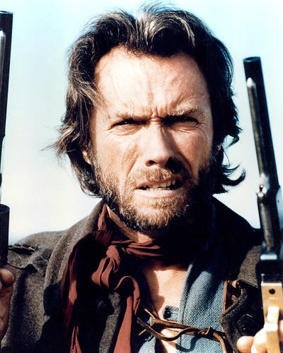 This is an image of 283862 Clint Eastwood Photograph & Poster