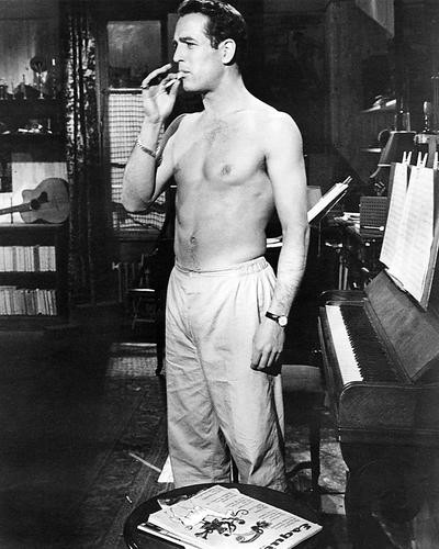 This is an image of 194448 Paul Newman Photograph & Poster