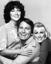 This is an image of 194321 Threes Company Photograph & Poster