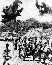 This is an image of 193614 King Kong Vs. Godzilla Photograph & Poster