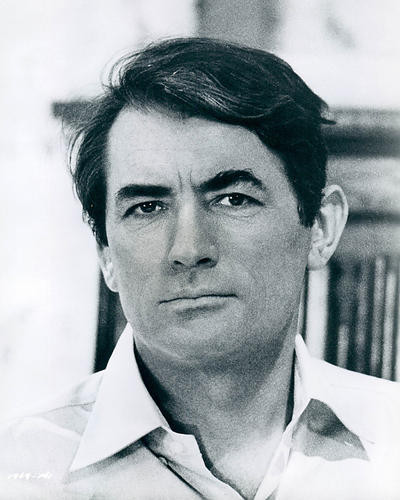 This is an image of 190035 Gregory Peck Photograph & Poster