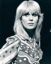 This is an image of 190038 Joanna Lumley Photograph & Poster