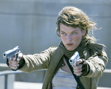 This is an image of 276643 Milla Jovovich Photograph & Poster