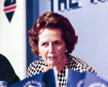 This is an image of 278116 Margaret Thatcher Photograph & Poster