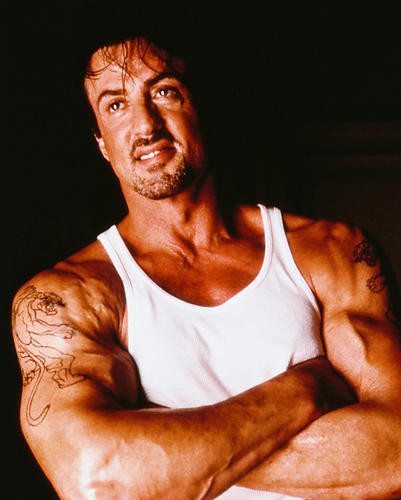 This is an image of 245001 Sylvester Stallone Photograph & Poster