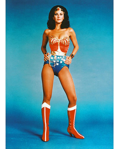 This is an image of 243303 Lynda Carter Photograph & Poster