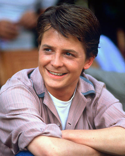 This is an image of 248601 Michael J.Fox Photograph & Poster