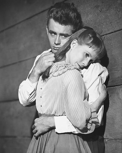 This is an image of 172539 James Dean & Julie Harris Photograph & Poster