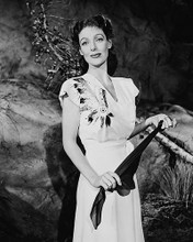 This is an image of 170996 Loretta Young Photograph & Poster