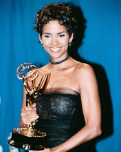 This is an image of 244338 Halle Berry Photograph & Poster