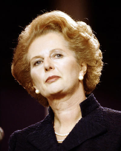 This is an image of 257451 Margaret Thatcher Photograph & Poster