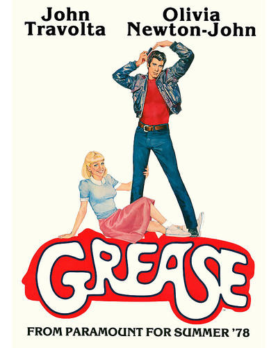 This is an image of 276030 Grease Photograph & Poster