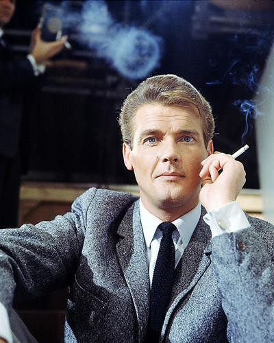This is an image of Photograph & Poster of Roger Moore 284436
