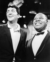 This is an image of Photograph & Poster of Louis Armstrong and Dean Martin 195052