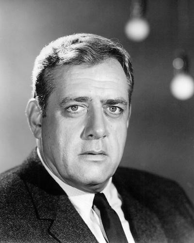 This is an image of Photograph & Poster of Raymond Burr 195004