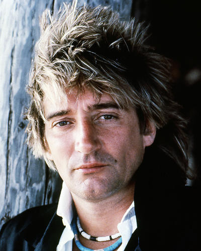 This is an image of Photograph & Poster of Rod Stewart 284848