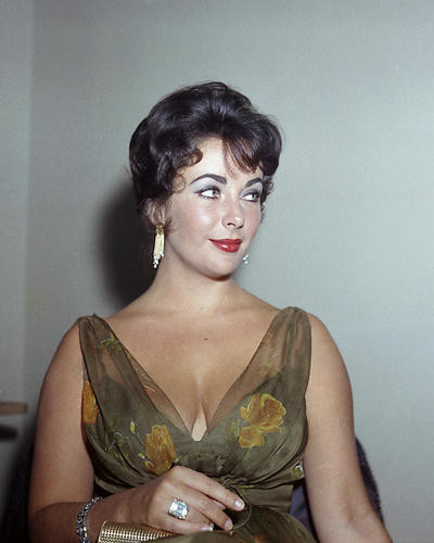 This is an image of Photograph & Poster of Elizabeth Taylor 284851