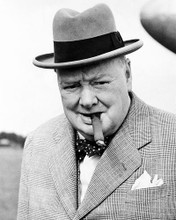 This is an image of Photograph & Poster of Winston Churchill 195406