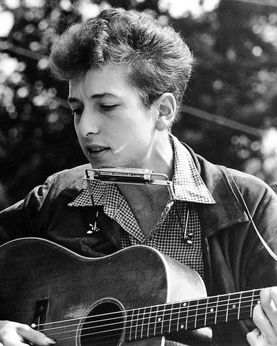 This is an image of Photograph & Poster of Bob Dylan 195493