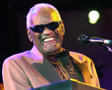 This is an image of Photograph & Poster of Ray Charles 285160