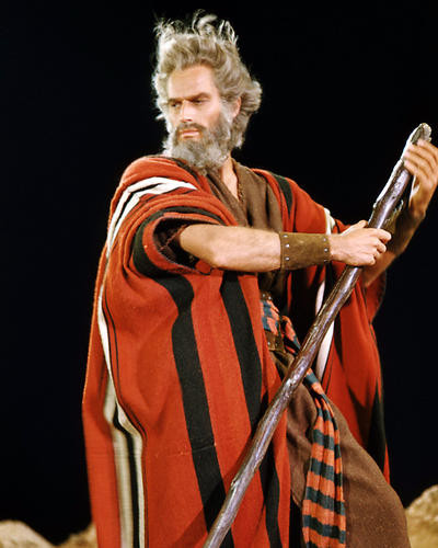 This is an image of Photograph & Poster of Charlton Heston 291158