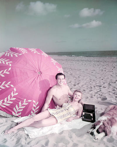 This is an image of Photograph & Poster of Rock Hudson 291425