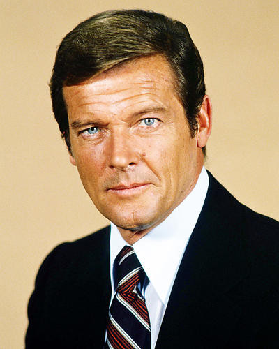 This is an image of Photograph & Poster of Roger Moore 291614