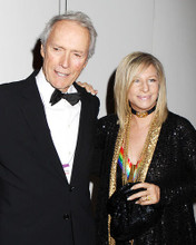This is an image of Photograph & Poster of Clint Eastwood and Barbra Streisand 291710
