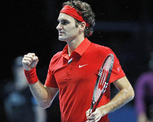 This is an image of Photograph & Poster of Roger Federer 292187