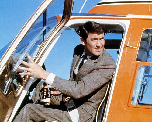 This is an image of Photograph & Poster of George Lazenby 292241