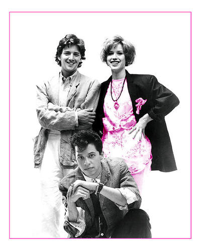 This is an image of Photograph & Poster of Pretty in Pink 292551