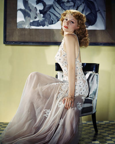 This is an image of Photograph & Poster of Rita Hayworth 292804