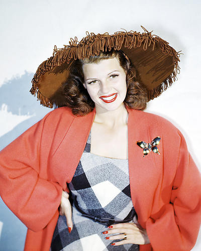 This is an image of Photograph & Poster of Rita Hayworth 293009