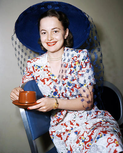 This is an image of Photograph & Poster of Olivia De Havilland 293372