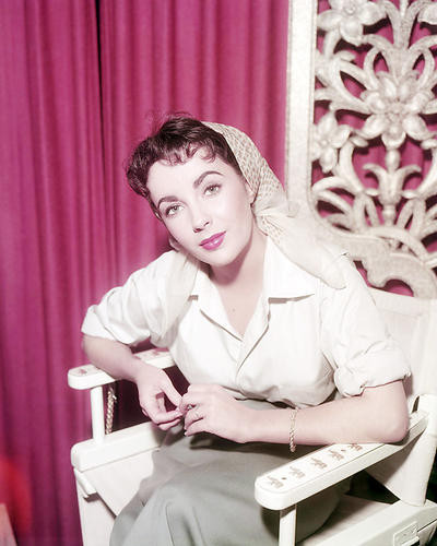 This is an image of Photograph & Poster of Elizabeth Taylor 293533