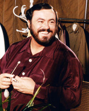This is an image of Photograph & Poster of Luciano Pavarotti 293888