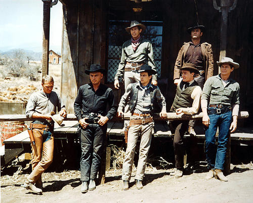 This is an image of Photograph & Poster of The Magnificent Seven 280156