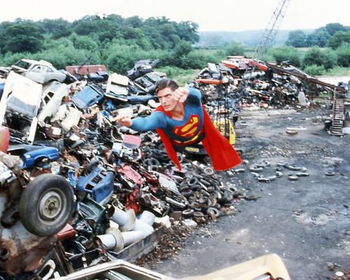 This is an image of Photograph & Poster of Superman 293908
